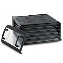 Excalibur Dehydrator, 5 bakker m/timer, sort/klar – pris 2995.00