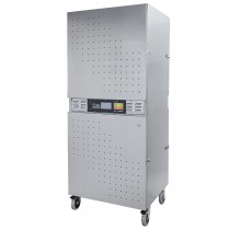 Excalibur Commercial Dehydrator, 2 Zoner - Rustfri stål