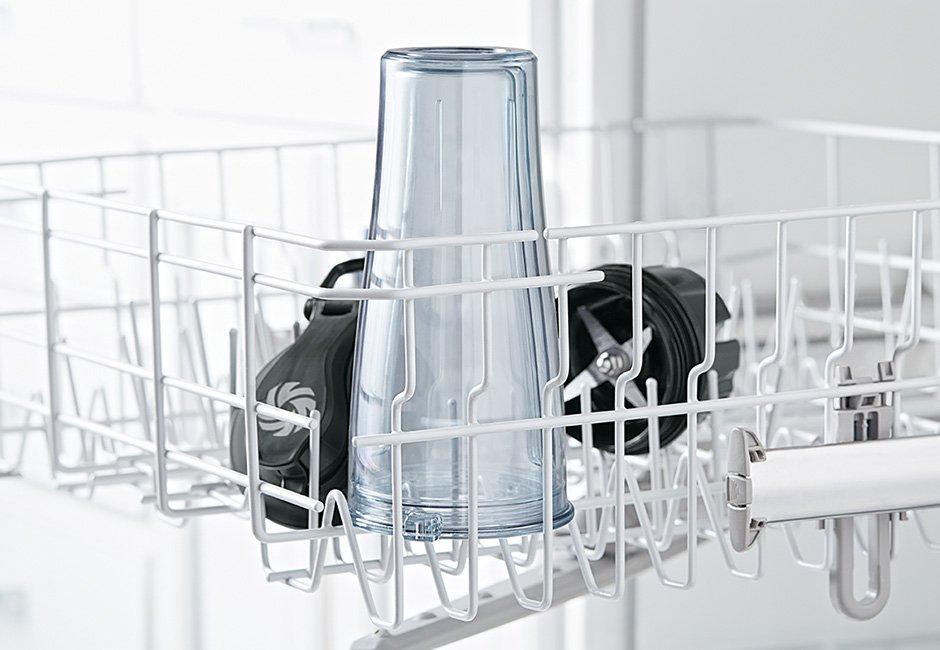 VitaMix S30 rengøres i opvaskemaskine