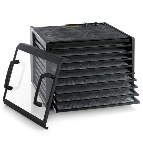Excalibur Dehydrator, 9 bakker m/timer, sort/klar