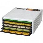 Excalibur Dehydrator, 5 bakker m/timer, sort eller hvid