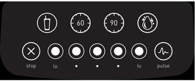 Betjening BlendTec Classic 575 blender