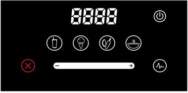 BlendTec Designer 625 Touch-panel