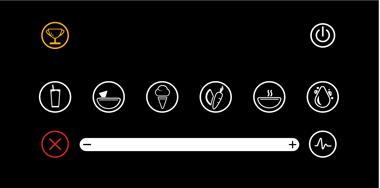 BlendTec Designer 725 Touch-panel